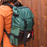 Topo Designs Rover Pack Heritage Forest/Brown Leather lifestyle