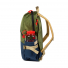 Topo Designs Standard Pack Black side with water bottle