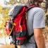 Topo Designs Subalpine Pack Red carrying