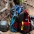 Topo Designs Subalpine Pack Red climbing gear