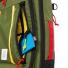 Topo Designs Travel Bag 30L Olive frontpocket