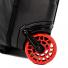 Topo Designs Travel Bag Roller trolley Premium Black detail wheel