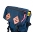 Topo Klettersack 22L Navy/Brown Leather flap