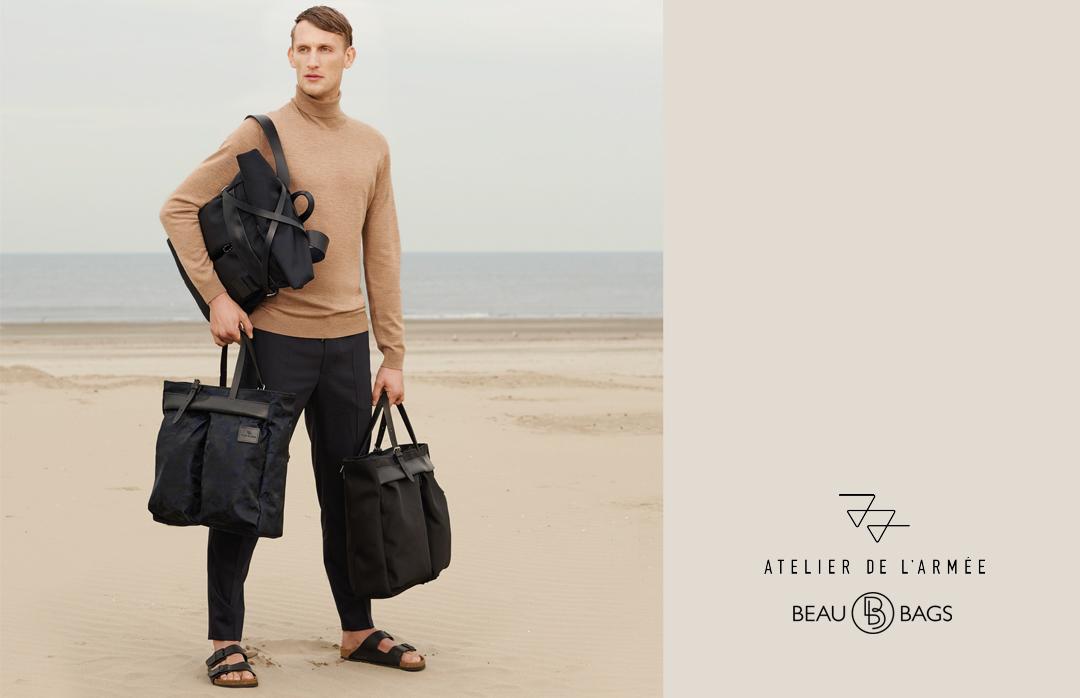 Atelier de l'Armée, bags, backpacks and accessoires