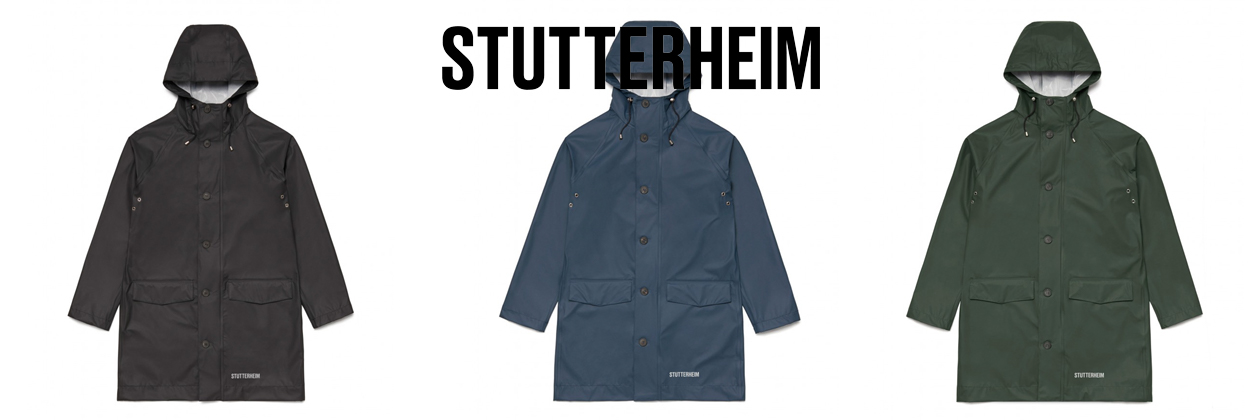 Stutterheim Raincoat Ekeby, perfect for travel in style