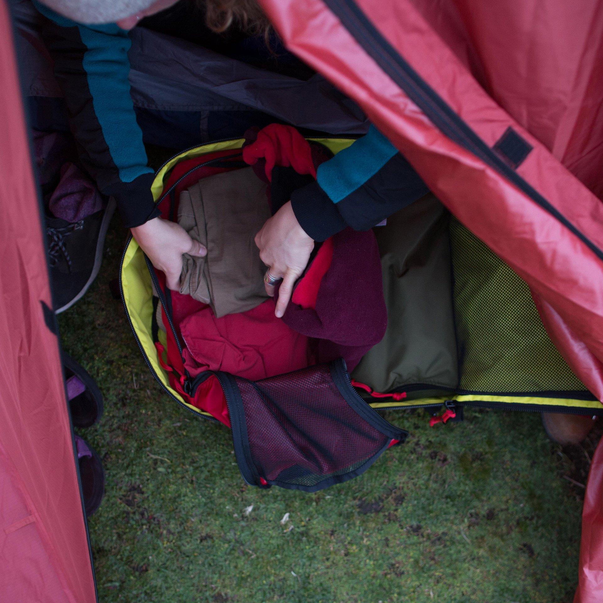 Topo pack Back, for easy packing