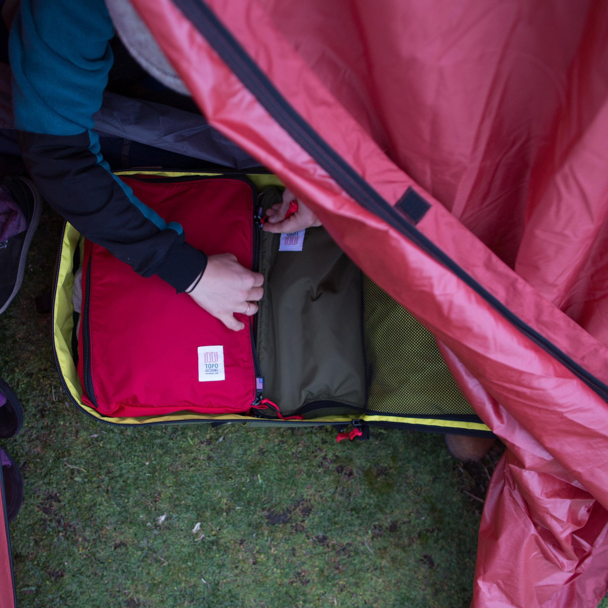 Topo Designs Pack Bag, for easy packing
