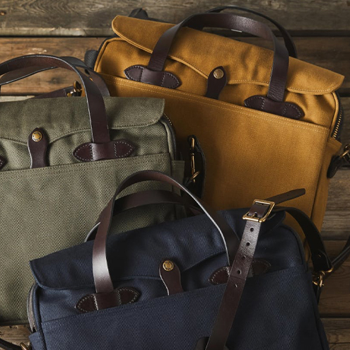 Filson Original Briefcases and Computer Bags. Buy your Filson Bag at BeauBags, the Filson specialist