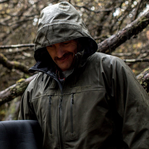 Filson Neoshell Reliance Jacket Raven - Technical Rainwear