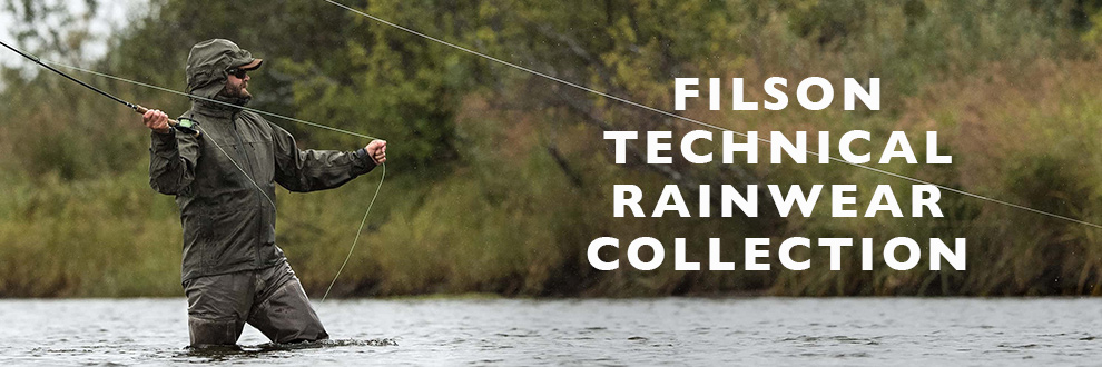 Filson Technical Rainwear Collection