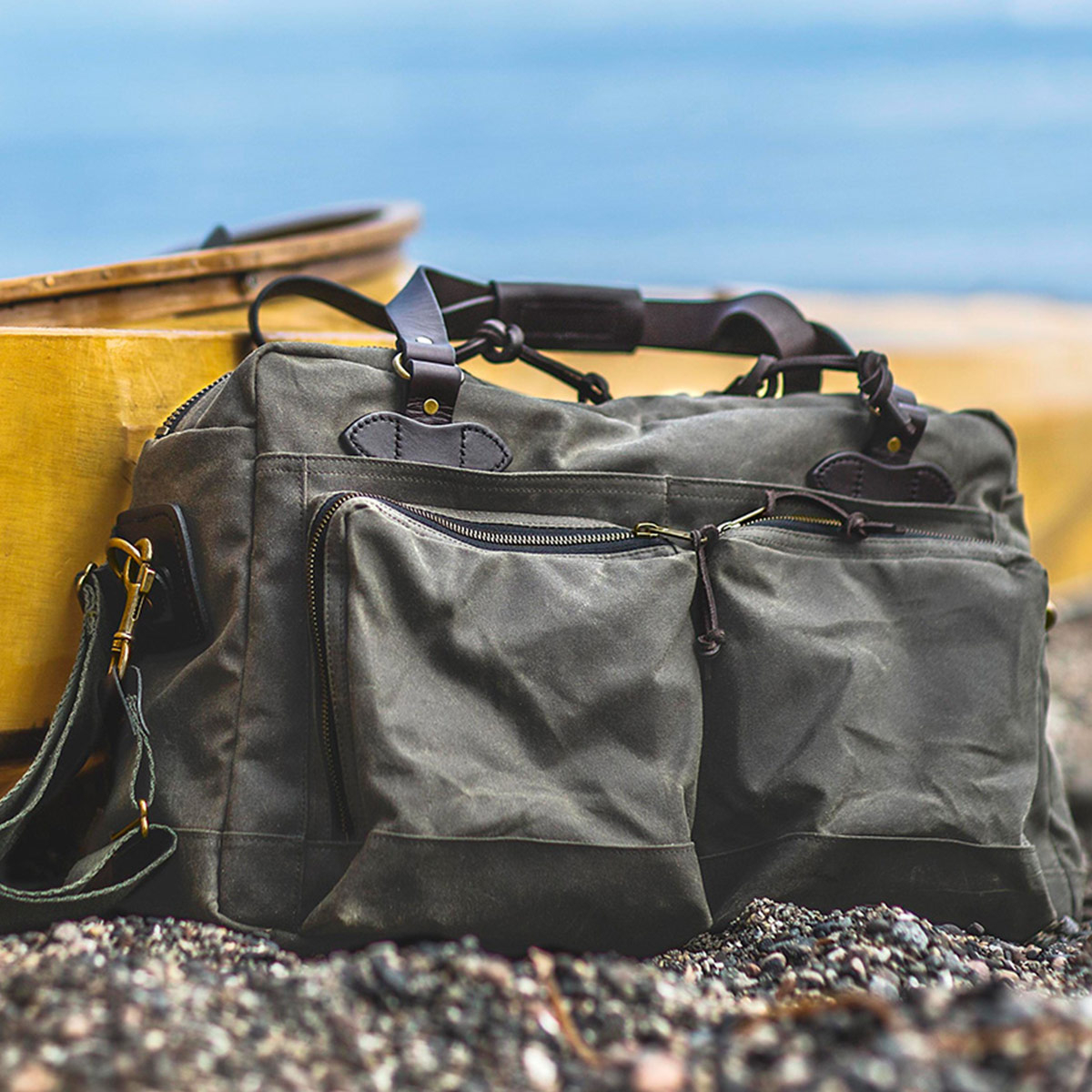 Filson 48-Hour Duffle, perfect for a weekend away or a small business-trip