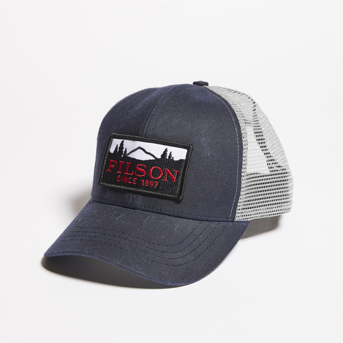 Filson Mesh Logger Cap 20157135-Navy, durable cap with breathable sun protection