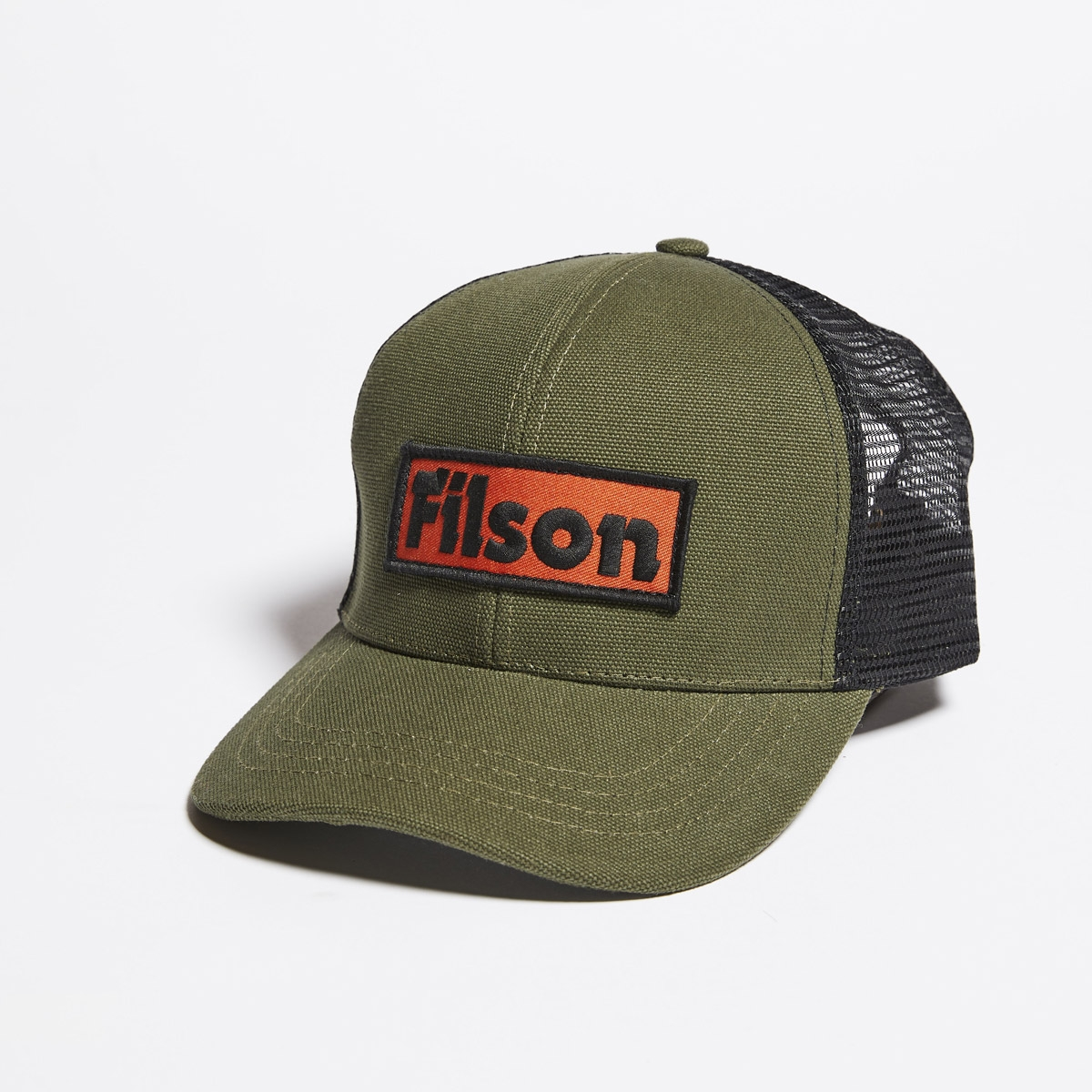 Filson Mesh Logger Cap 20157137-Olive, durable cap with breathable sun protection