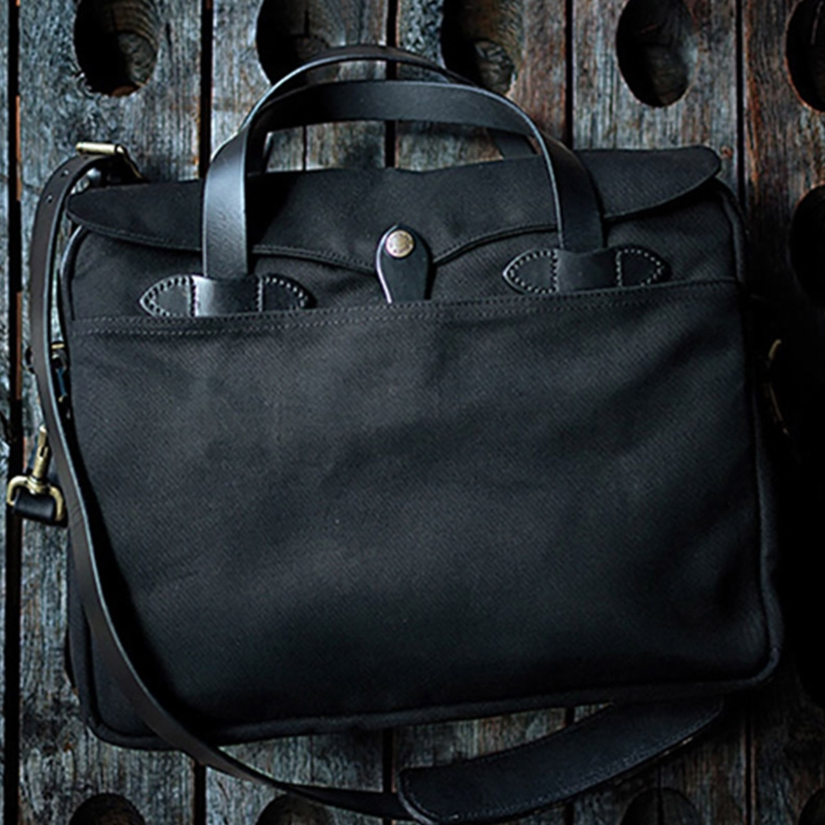 Filson Original Briefcase 11070256 Black extraordinary bag for an ordinary day