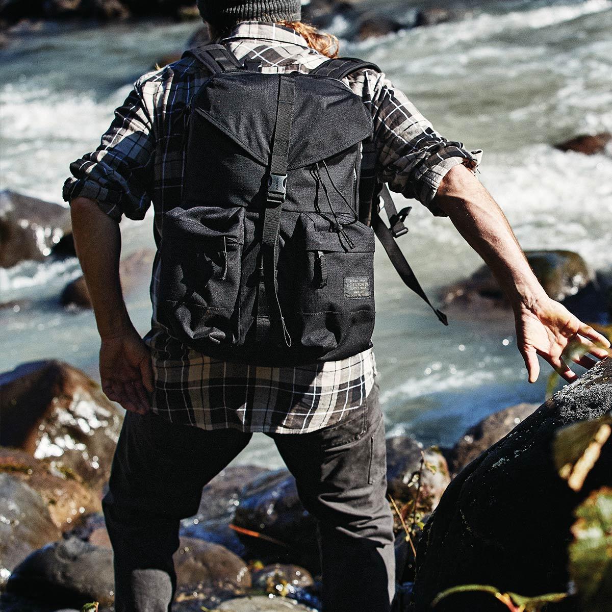 Filson Ripstop Backpack 20115929 Black