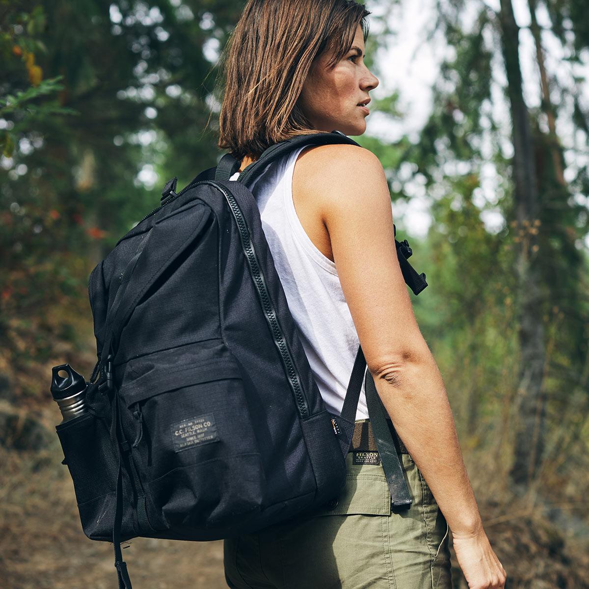 Filson Ripstop Backpack Black