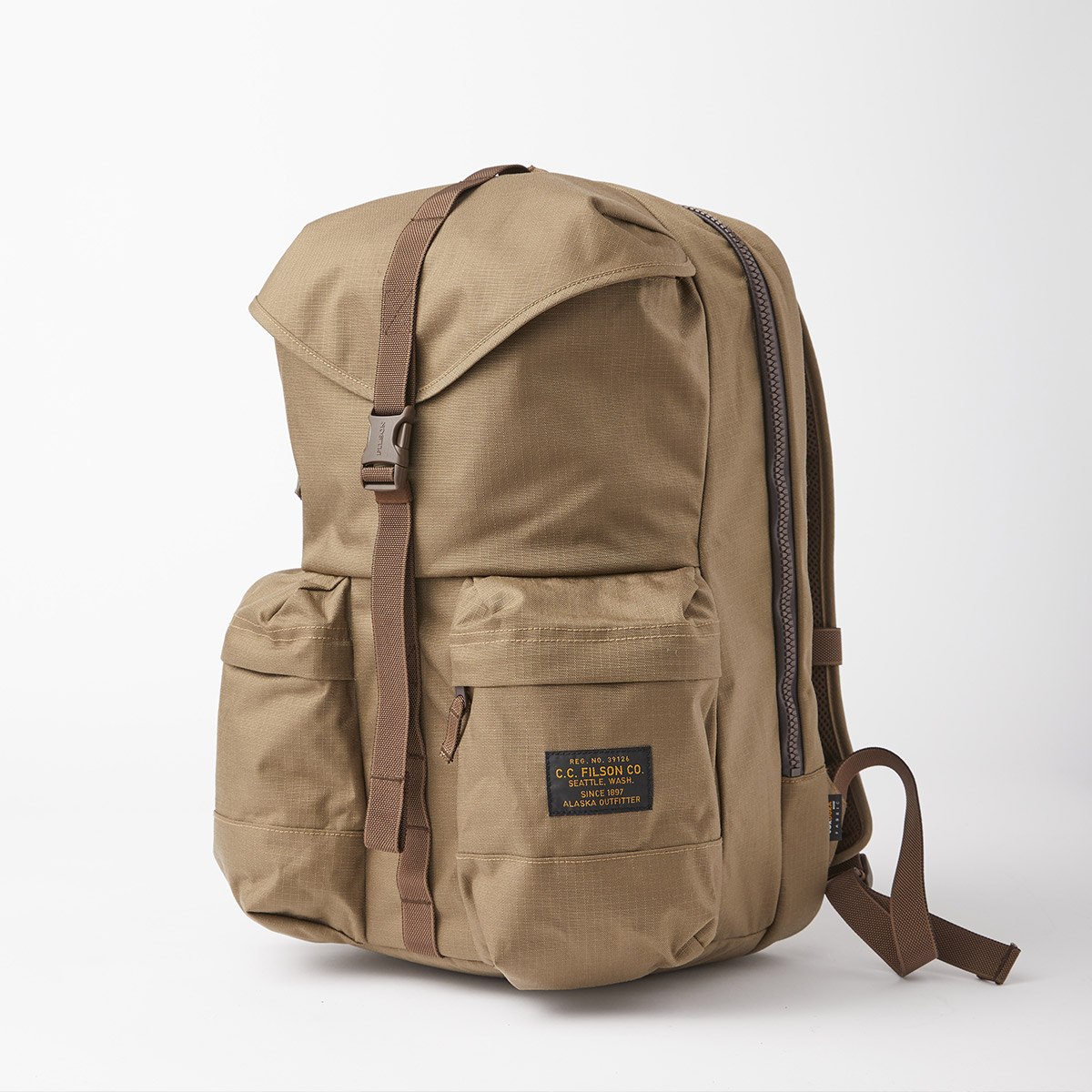 Filson Ripstop Backpack 20115929 Field Tan, lightweight and durable backpack