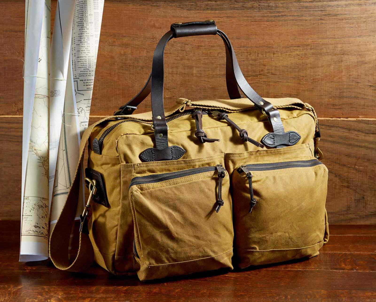 Filson 48-Hour-Duffle perfect bag for a long weekend