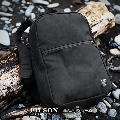 Filson Rugged Twill Bandera Backpack 20092142-Black