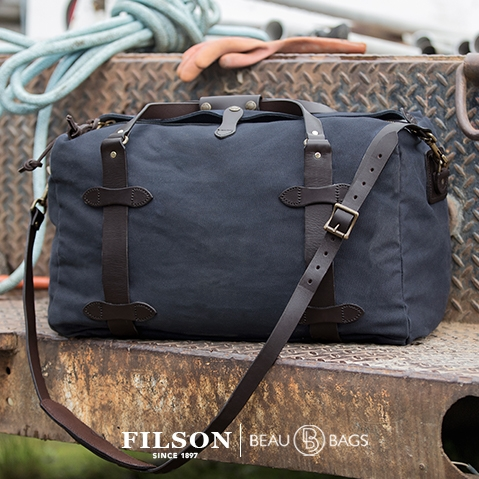 Duffle Bag Medium 11070325 Navy, lifestyle picture