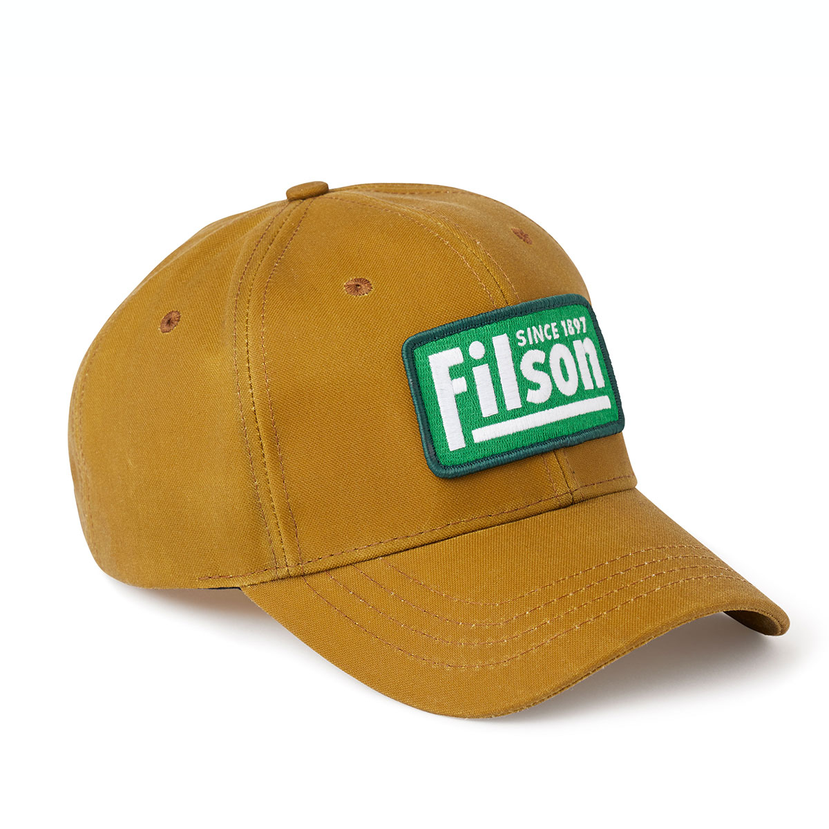 Filson Oil Tin Logger Cap Tan