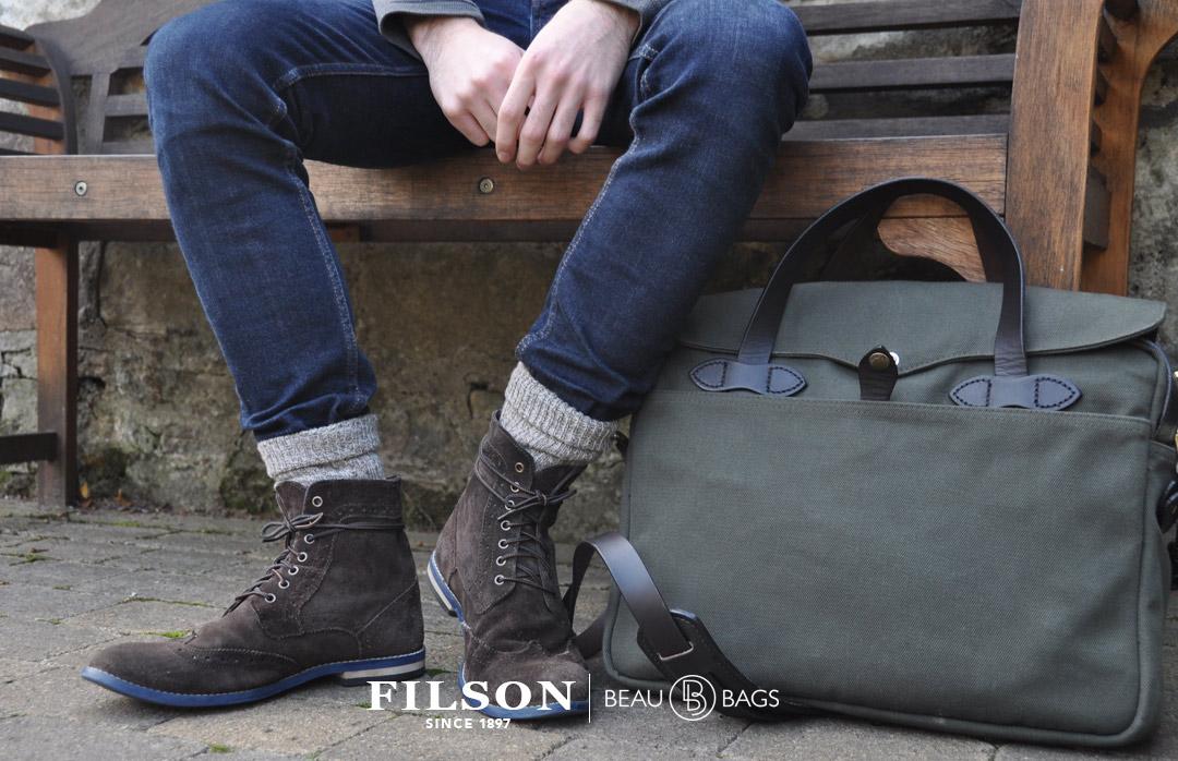 Filson Original Briefcase 11070256 Otter Green, streetwear