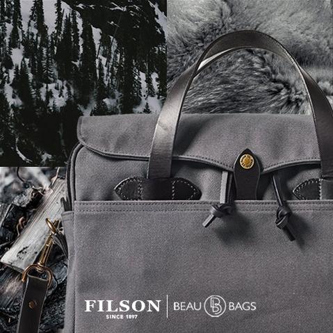 Filson Original Briefcase Cinder