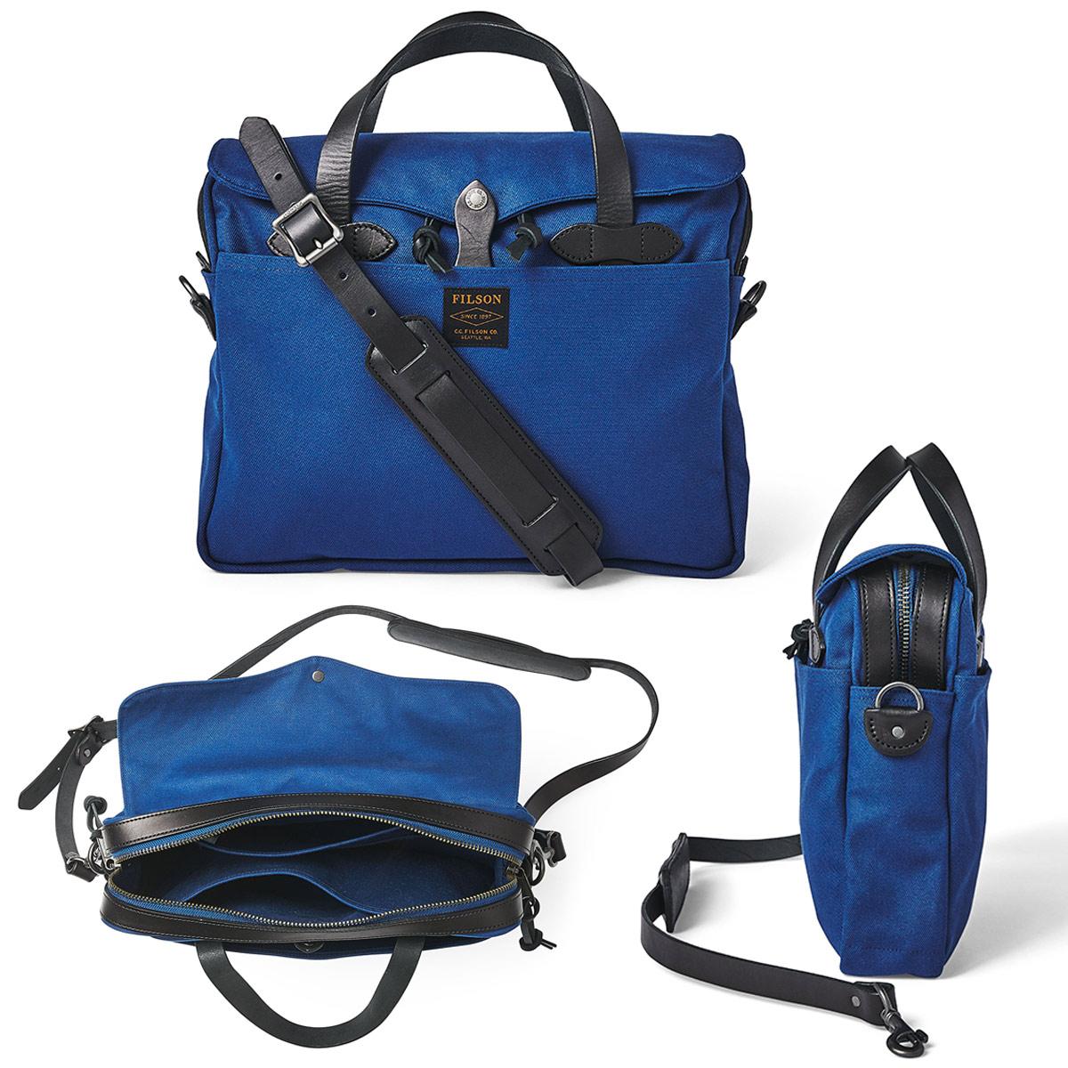 Filson Original Briefcase Flag Blue, extraordinary bag for an ordinary day