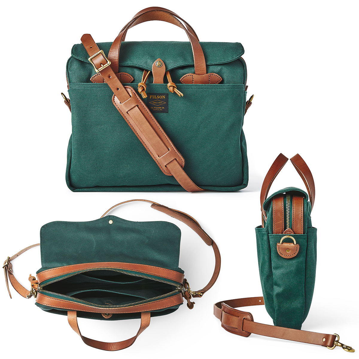 Filson Original Briefcase Hemlock, extraordinary bag for an ordinary day