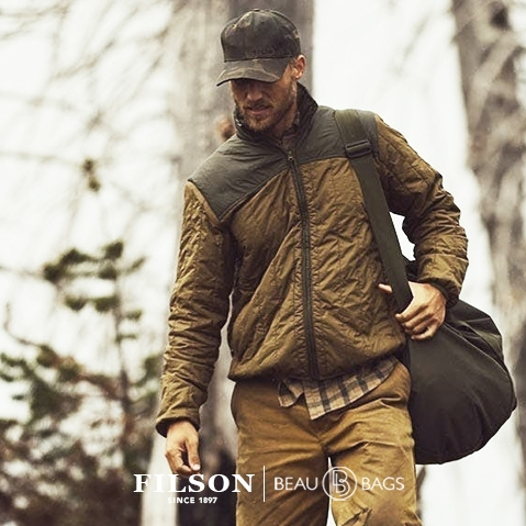 Filson Ultra Light Jacket Field Olive, perfect as an outer layer or underneath a heavy jacket for warmth in extreme cold