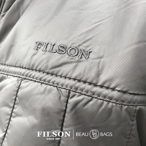 Filson Ultra Light Jacket Raven, with Cordura® Ripstop nylon and 60gm PrimaLoft® Gold insulation