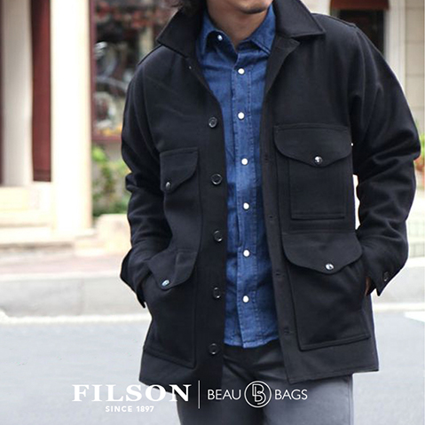Mackinaw Cruiser Jacket Dark Navy