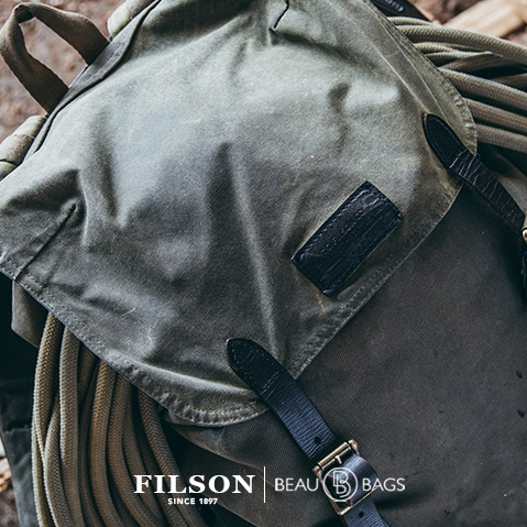 Filson Ranger Backpack Otter Green, extraordinary bag for an ordinary day