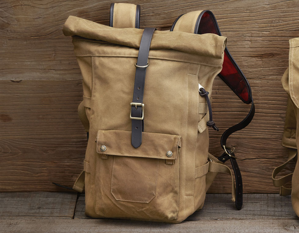 Filson Roll-Top Backpack Tan