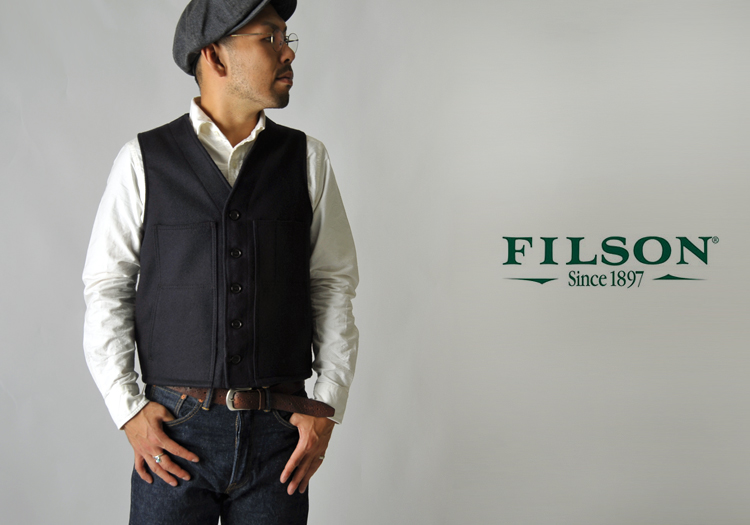 filson vests & shirts