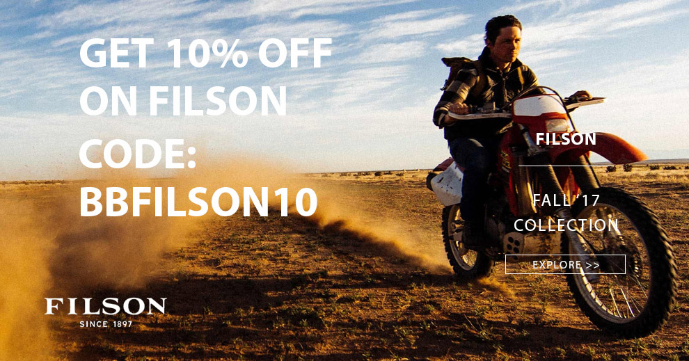 Filson Fall 2017 Collection, explore now