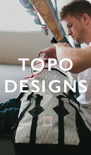 Topo Designs, Bags and Rucksacks for men and women