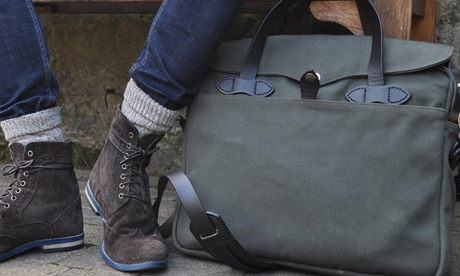 Filson Original Briefcase Otter Green