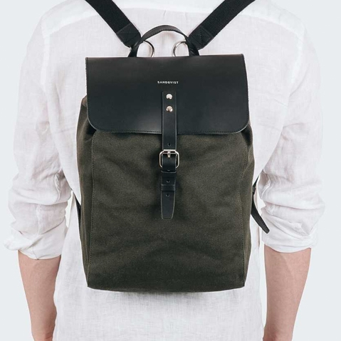 Sandqvist Alva Beluga, a perfect every-day backpack for work and leisure