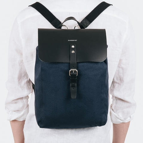 Sandqvist Alva Blue, a perfect every-day backpack for work and leisure