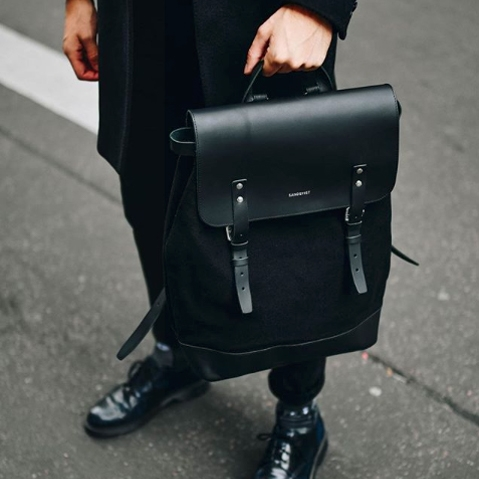 Sandqvist Hege Backpack Beluga, a perfect every-day bag for work