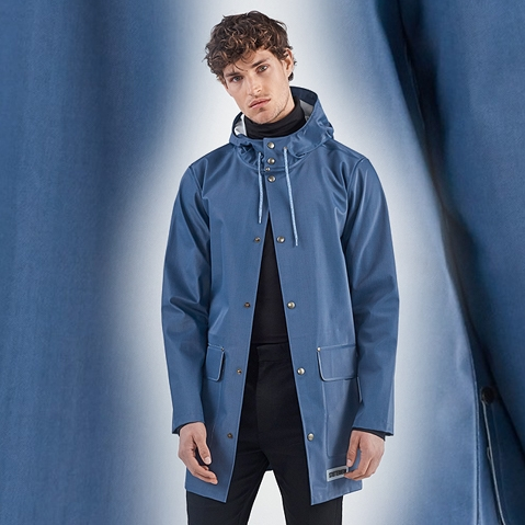 Stutterheim Stockholm DS Workwear Blue Spring - Summer 2018