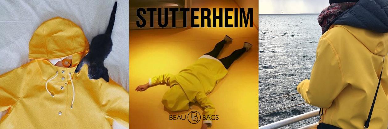 Stutterheim Stockholm Yellow Lifestyle