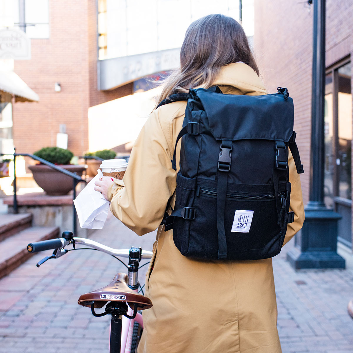 Topo Designs Rover Pack Classic Black, timeless backpack with great functionalities