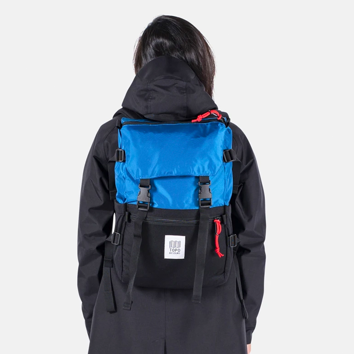 Topo Designs Rover Pack Classic Blue/Black, timeless backpack with great functionalities
