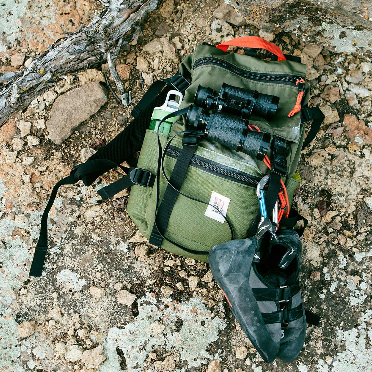 Topo Designs Rover Pack Classic Olive, timeless backpack with great functionalities