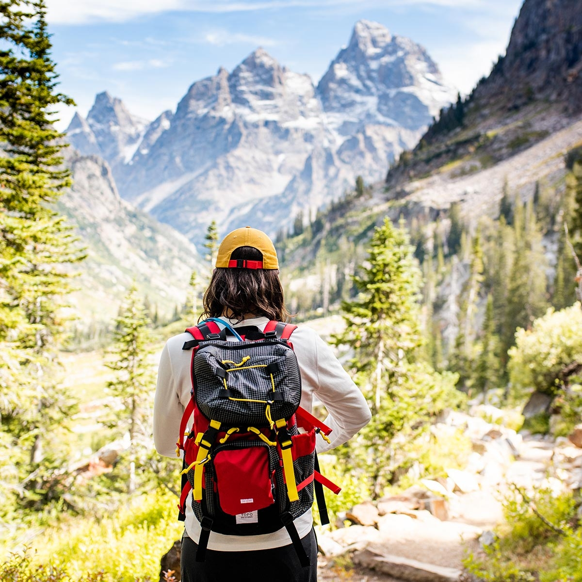 Topo Designs Topo Designs Subalpine Pack,  with a roomy main compartment make this the perfect pack for hiking