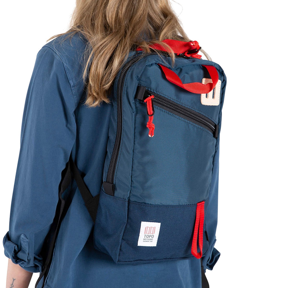 Topo Designs Trip Pack Navy, a must-have travel companion