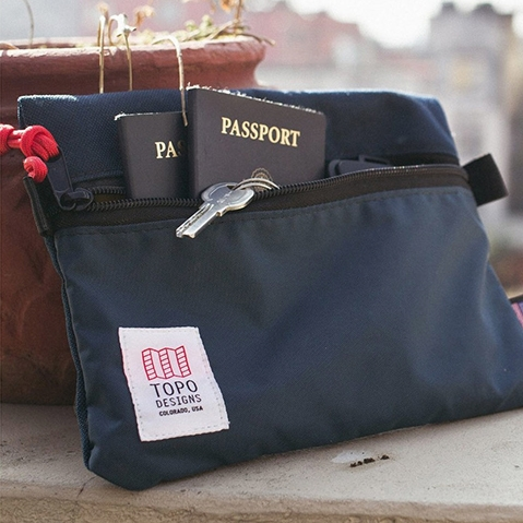 Topo Designs Accessory Bags 3 Sizes