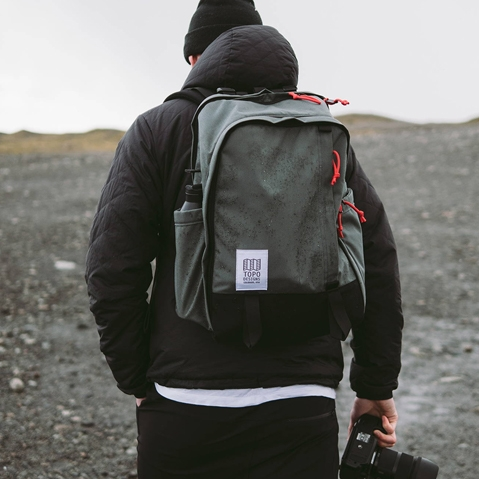Topo Designs Core Pack Black, perfect backpack for business travel or school commute
